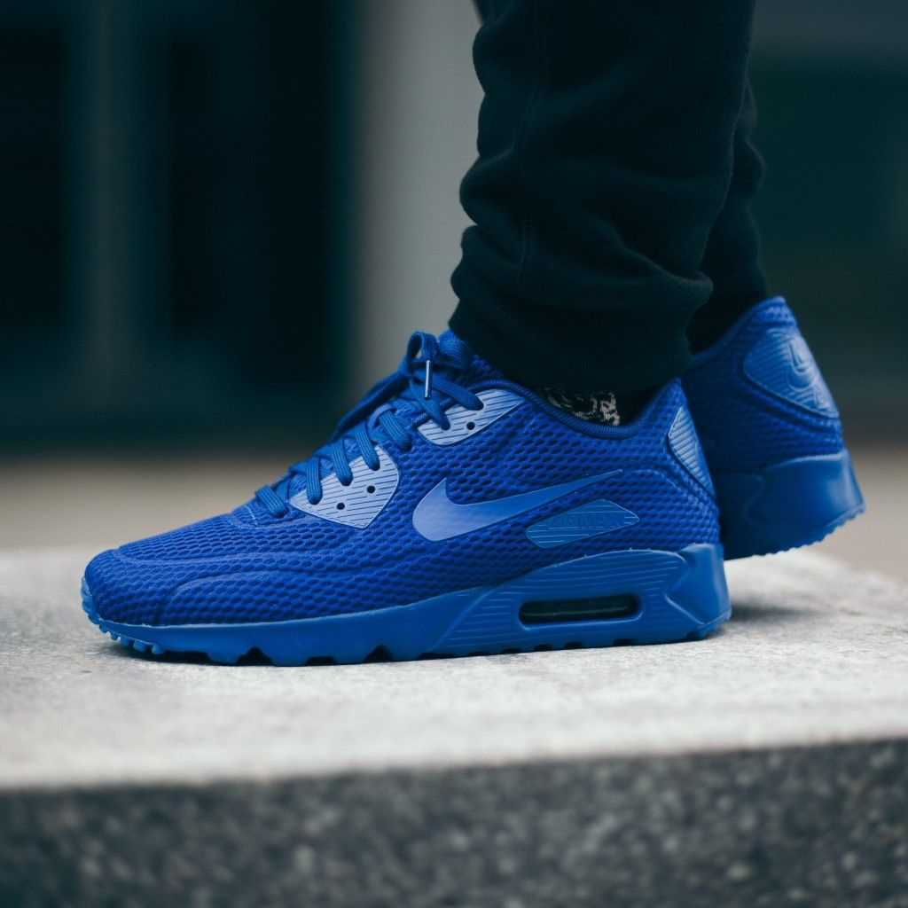 Nike Air Max 90 Blue Glow Black Elephant Freshness Mag
