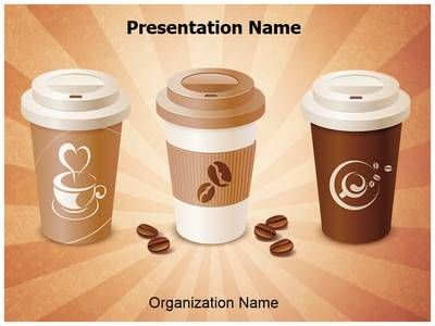 Starbucks Coffee Powerpoint Template Is One Of The Best Powerpoint