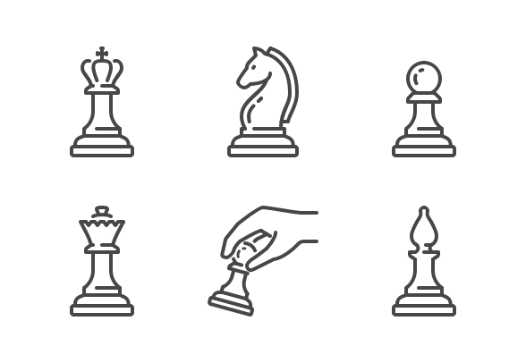 64px Board Games Icons By Sir Vector Game Icon Board Games Business Icons Design
