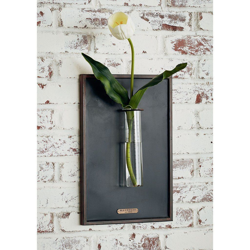 Rain gauge wall vase from magnolia home gift for the