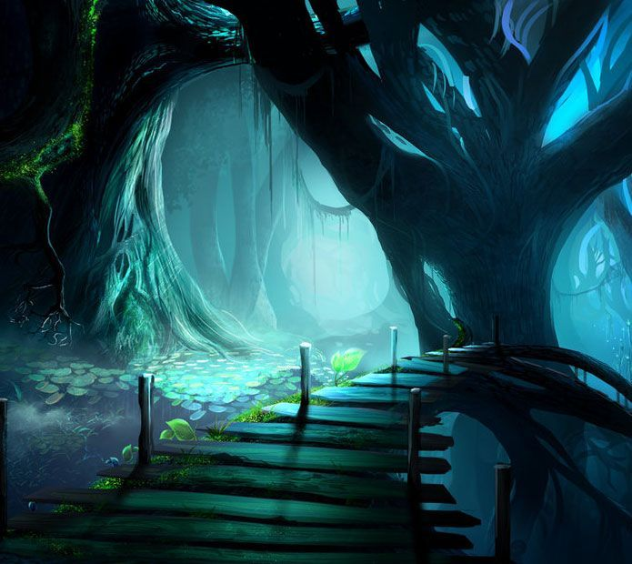 Fantasy Landscape Wallpaper: Pin By RiverJiang On Story Inspirations