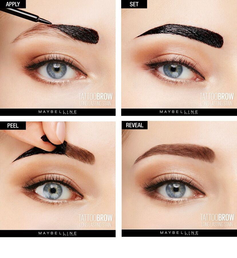 Details about Maybelline TATTOO GEL Eyebrow Tint