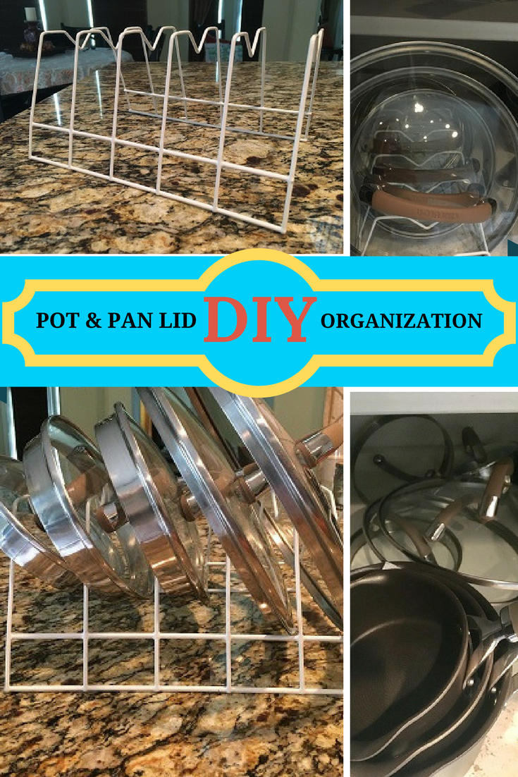 5 Minute Fix-Organize Lids for Pots and Pans | Organization ...