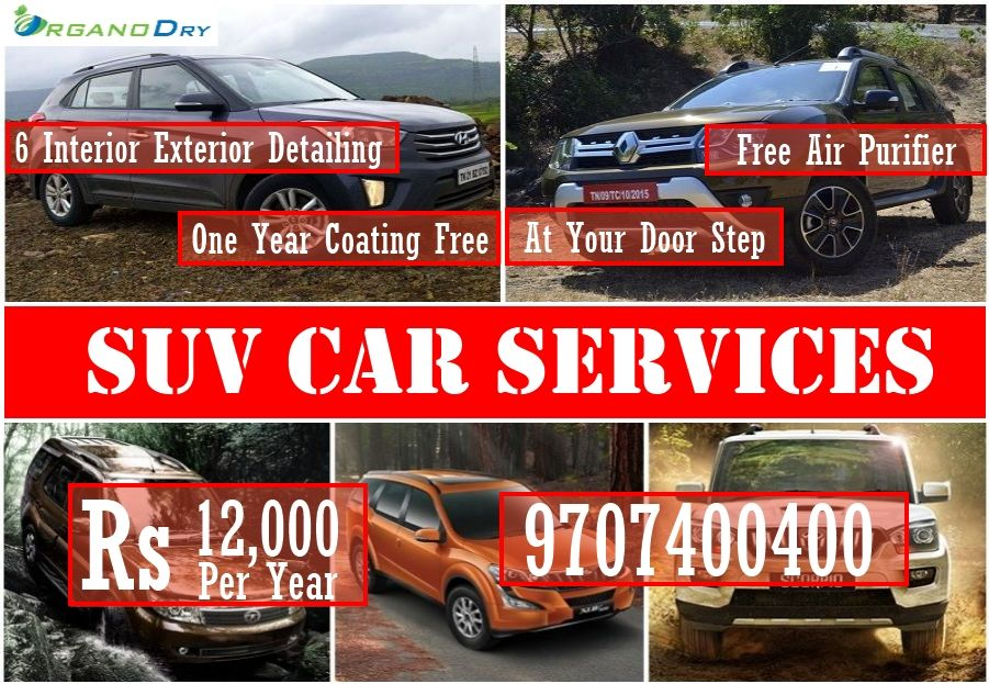 Special Yearly Deals SUV Car Cleaning Services in