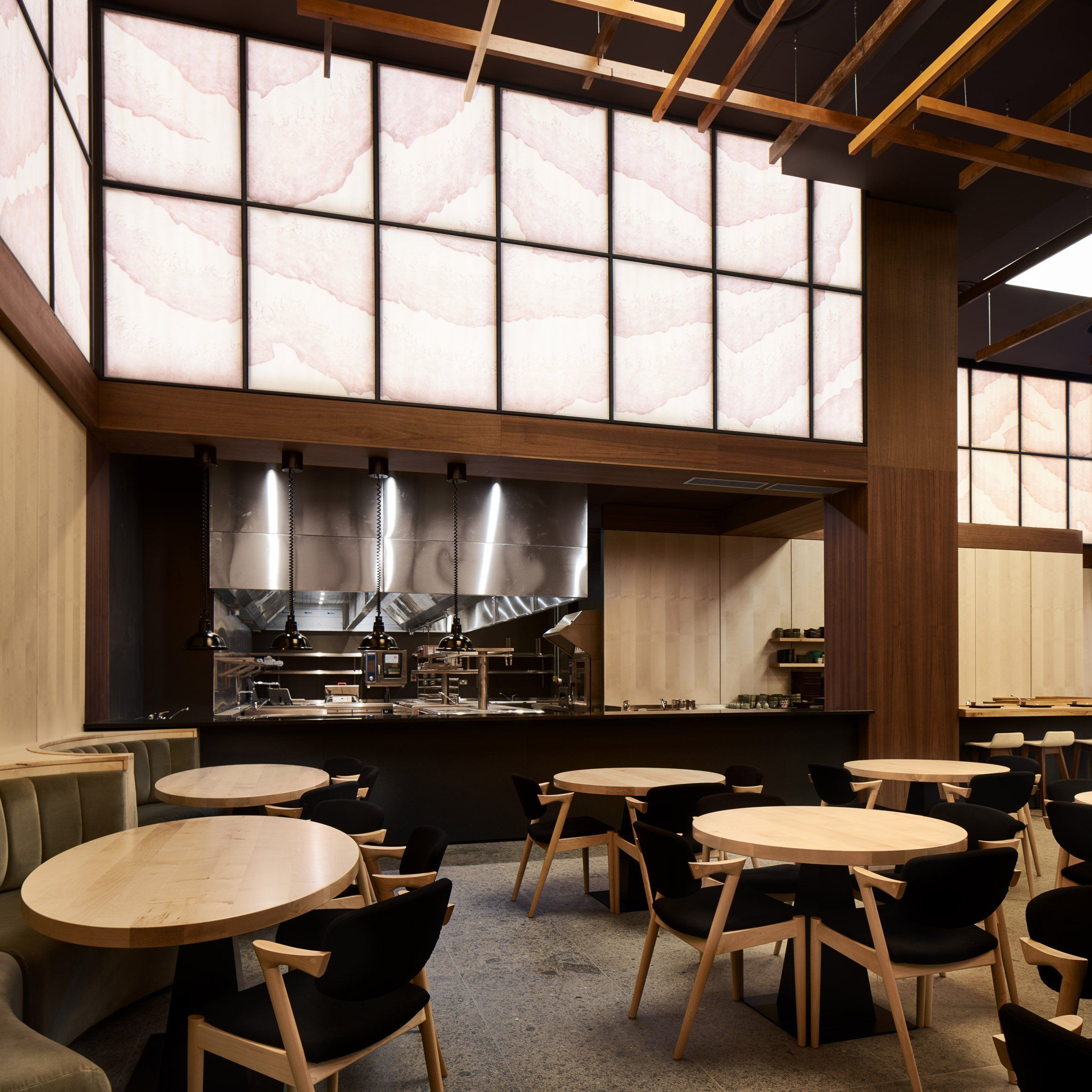Yen restaurant by Sybarite Architecture | Home decor | Pinterest | Raum