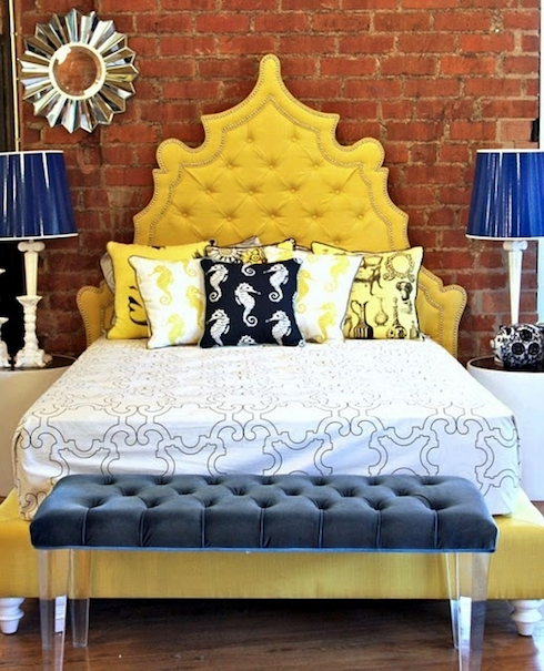 Best 25 Bedroom Wall Colors Ideas On Pinterest: Best 25+ Yellow Headboard Ideas On Pinterest