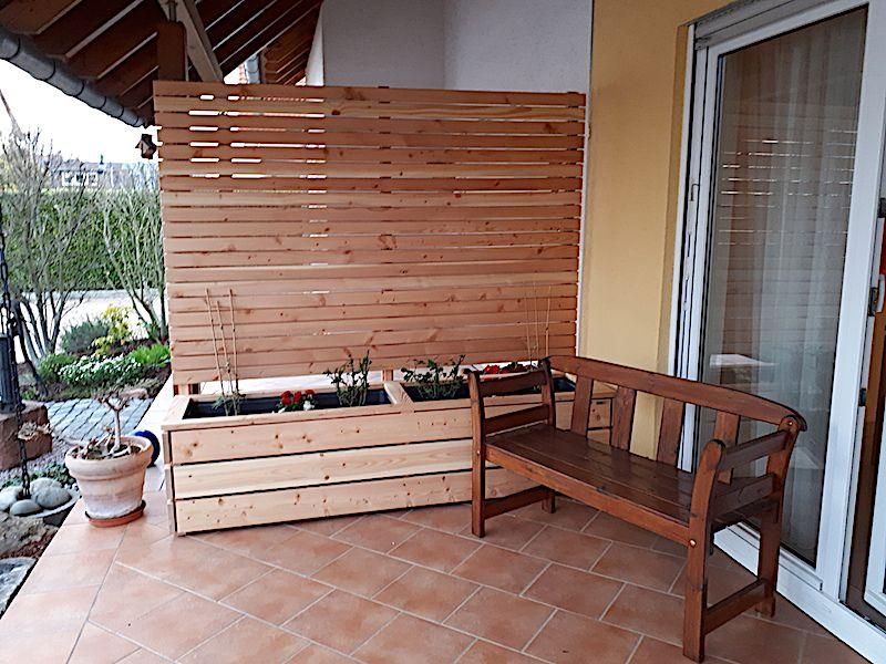 Loungemöbel / Gartenmöbel / Pflanzkasten / Sichtschutz