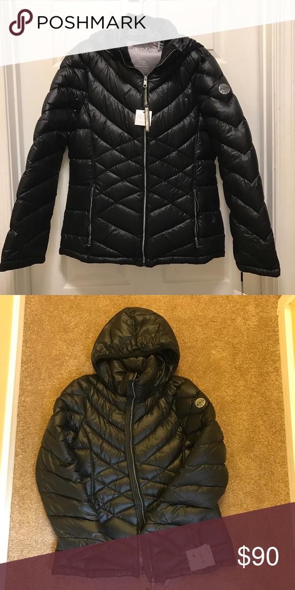 c06446ff62c Calvin Klein winter jacket!! NWT size Large Calvin Klein, winter jacket,  size