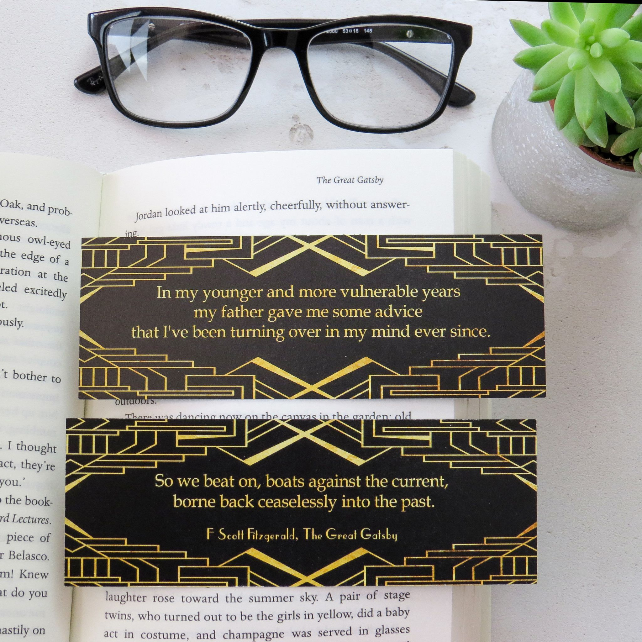 The Great Gatsby Bookmark