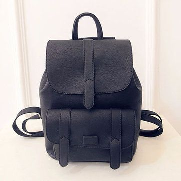 47abd41f9c Stylish PU Leather Backpack Shoulder Bag School Bags Shoulder Bag For Women