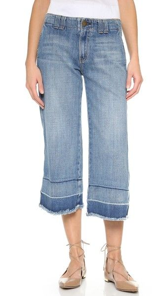 Current/Elliott The Cropped Hampden Jeans