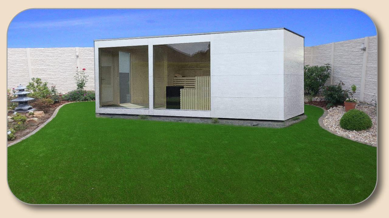 gartensauna modern aussensauna kaufen idee n voor het huis pinterest voor. Black Bedroom Furniture Sets. Home Design Ideas
