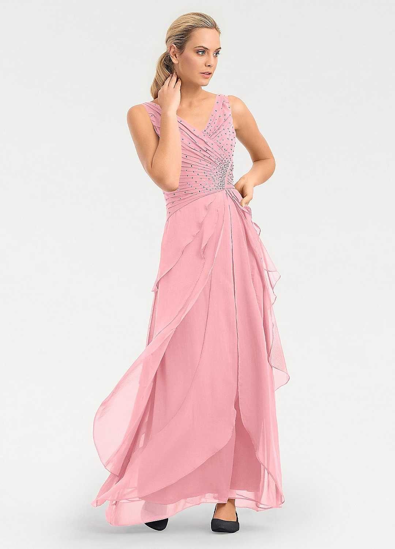 d82b946ee0b9 Heine Chiffon Layered Evening Dress in 2019 | Shopping. | Dresses ...