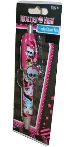 Monster High Freaky Charm Pen by Innovative Designs. $1.99. Freaky Charm Pen. Ages 7+. Monster High. Monster High Freaky Charm pen. Add to your collection and makes a great gift.