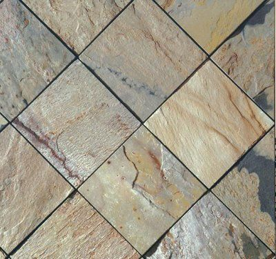 Slate Tile Autumn X Floor Tile By Qflooring Slate Tile - 8x8 slate tile