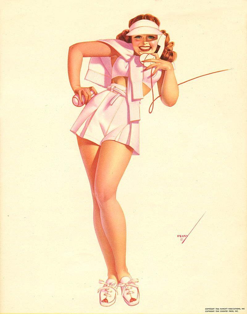 "George Petty - -Esquire Magazine ""Petty Girl"" Calendar ..."