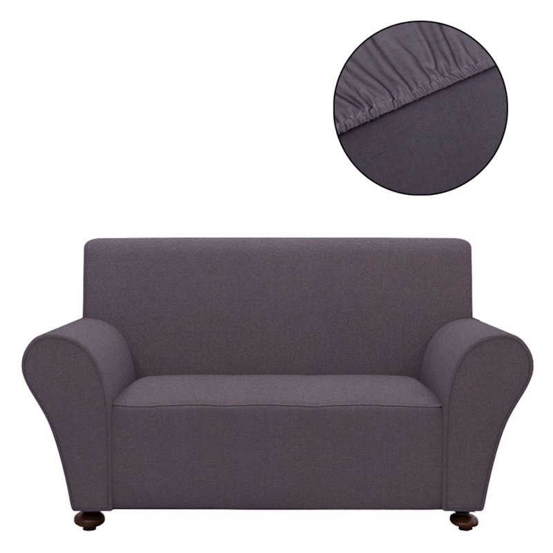 Vidaxl Stretch Couch Slipcover Anthracite 190x130cm
