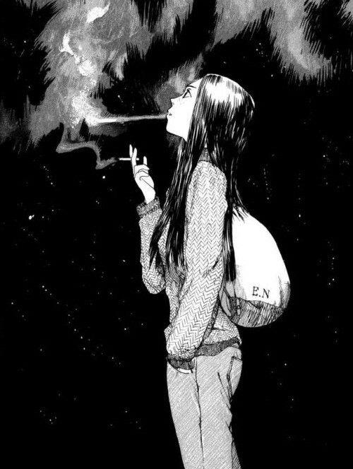 Omoide Emanon | Anime escuro, Ilustrações, Anime estético