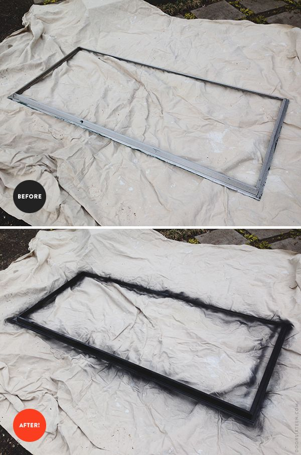 Painting aluminum storm windows   Home projects   Aluminum