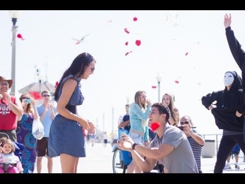 Flash Mob Proposal 2016 Emotional Funny Ever Emotional Marry You