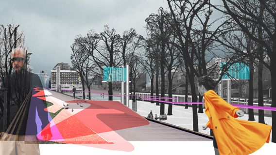 collage hofplein viaduct master plan gross max