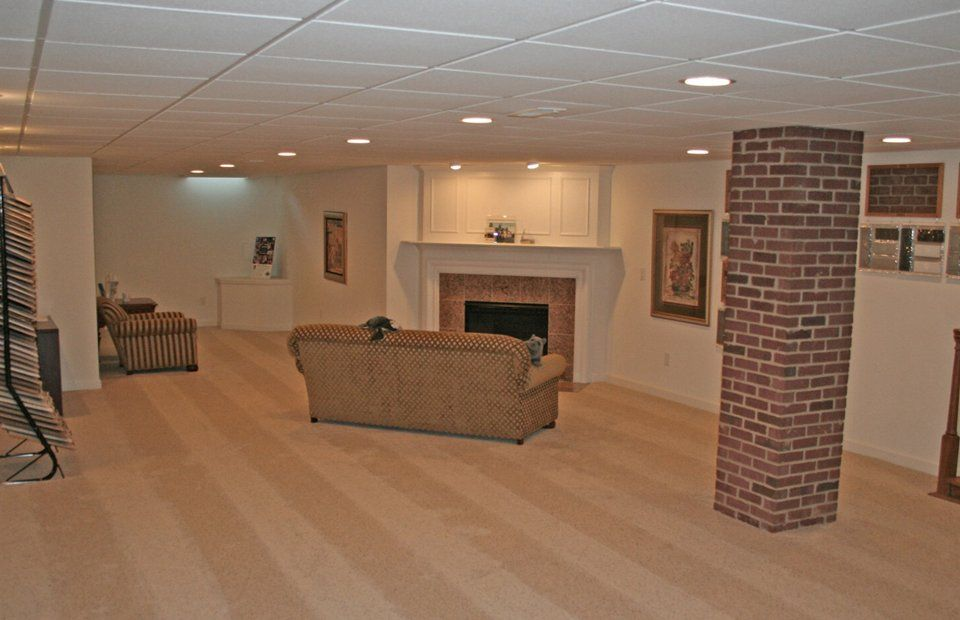 Ideas for finishing basement on a budget basement finished ideas basement ideas - Finished basements ideas ...