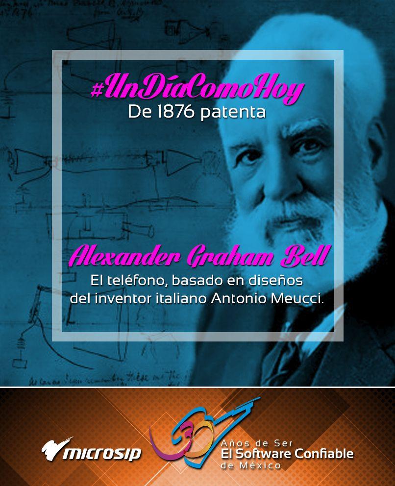 Tal día como hoy de 1876, Alexander Graham Bell patenta el teléfono