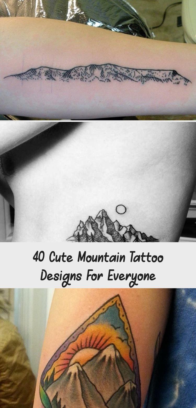 40 dessins de tatouage de montagne mignons pour tout le monde  tatouage  40 conceptions mignonnes de tatouage de montagne pour tout le monde  Leçon de loisir