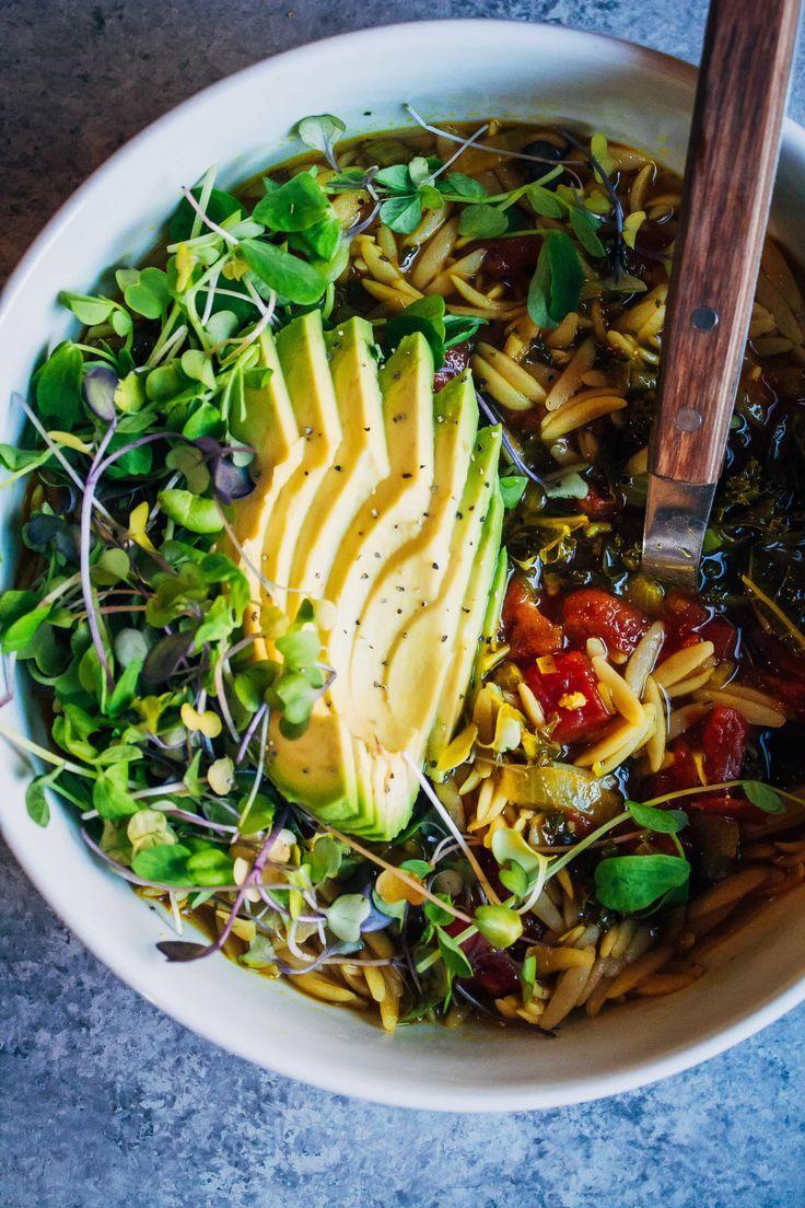 Feel better soup well and full vegan soup recipe