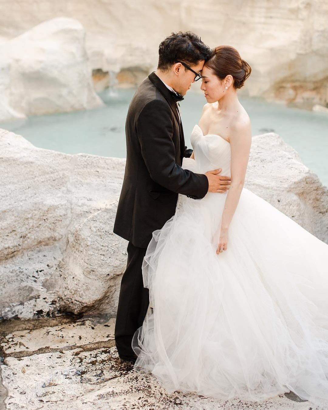 Japanese wedding makeup and hairstyle in Rome italy by www ...
