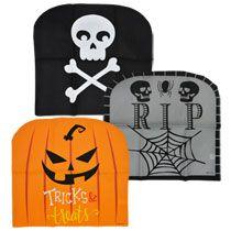 Miraculous Spooky Halloween Chair Covers Halloween Fun Halloween Ncnpc Chair Design For Home Ncnpcorg