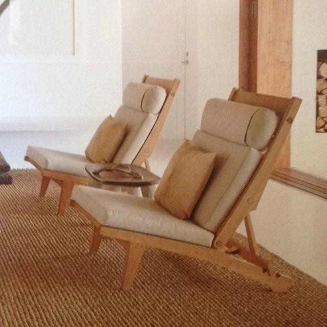 vintage hans wegner chairs.