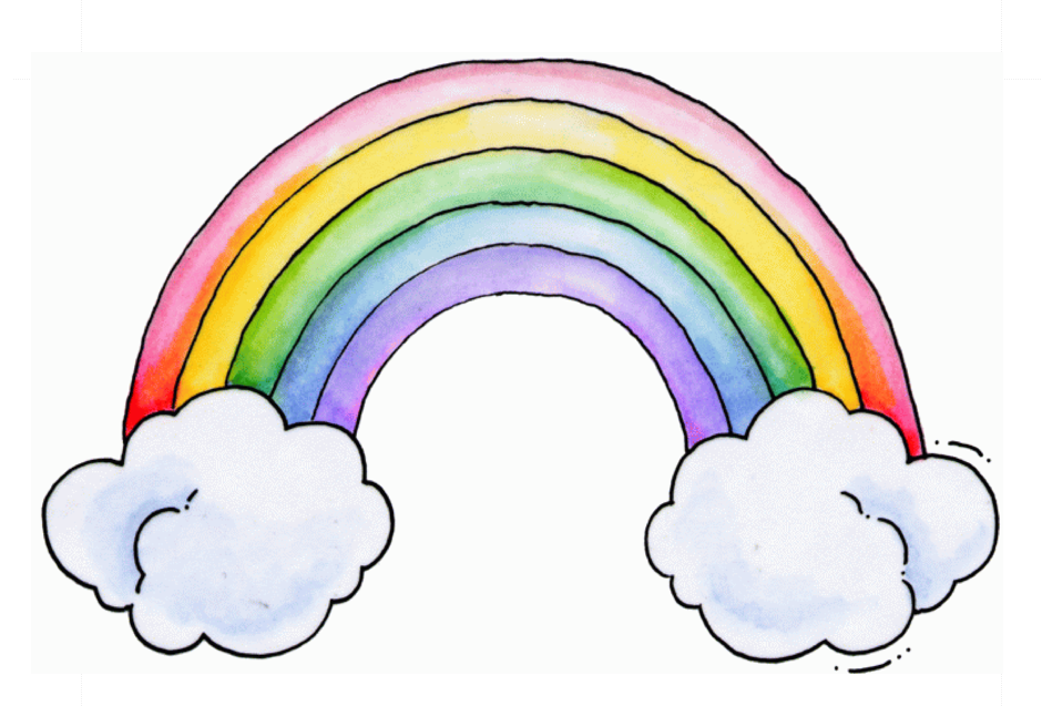 the blackham bunch great rainbow poem for baptisms or children s rh pinterest co uk LDS Baptism by Immersion My Baptism Clip Art