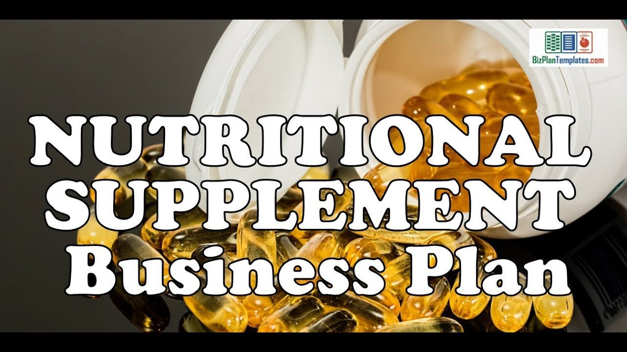 Health supplements business plan how to write an interpretive review