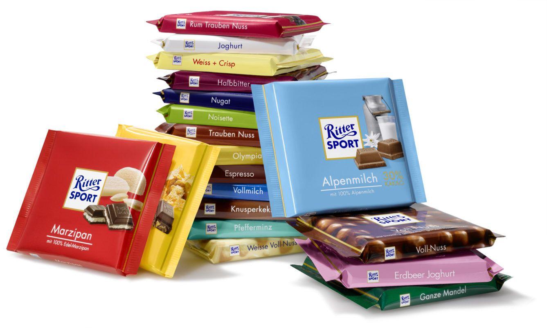 Ritter Sport Chocolate Alemán en 2020 (con imágenes