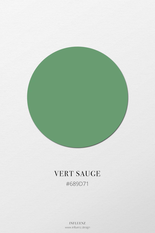Code Couleur Vert Sauge le champ chromatique «vert»   champ chromatique, vert et