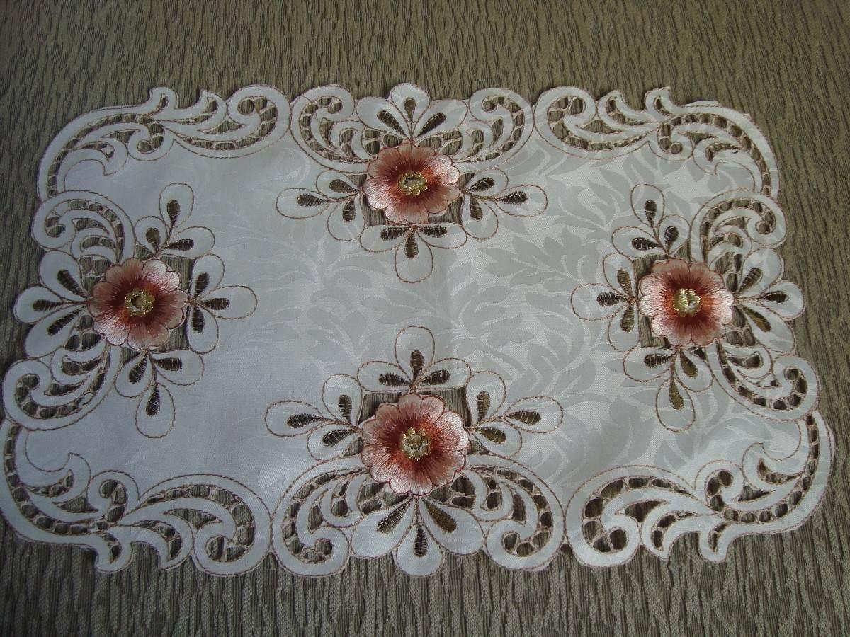 Resultado de imagen para manteles bordados a mano patrones - Manteles de tela ...