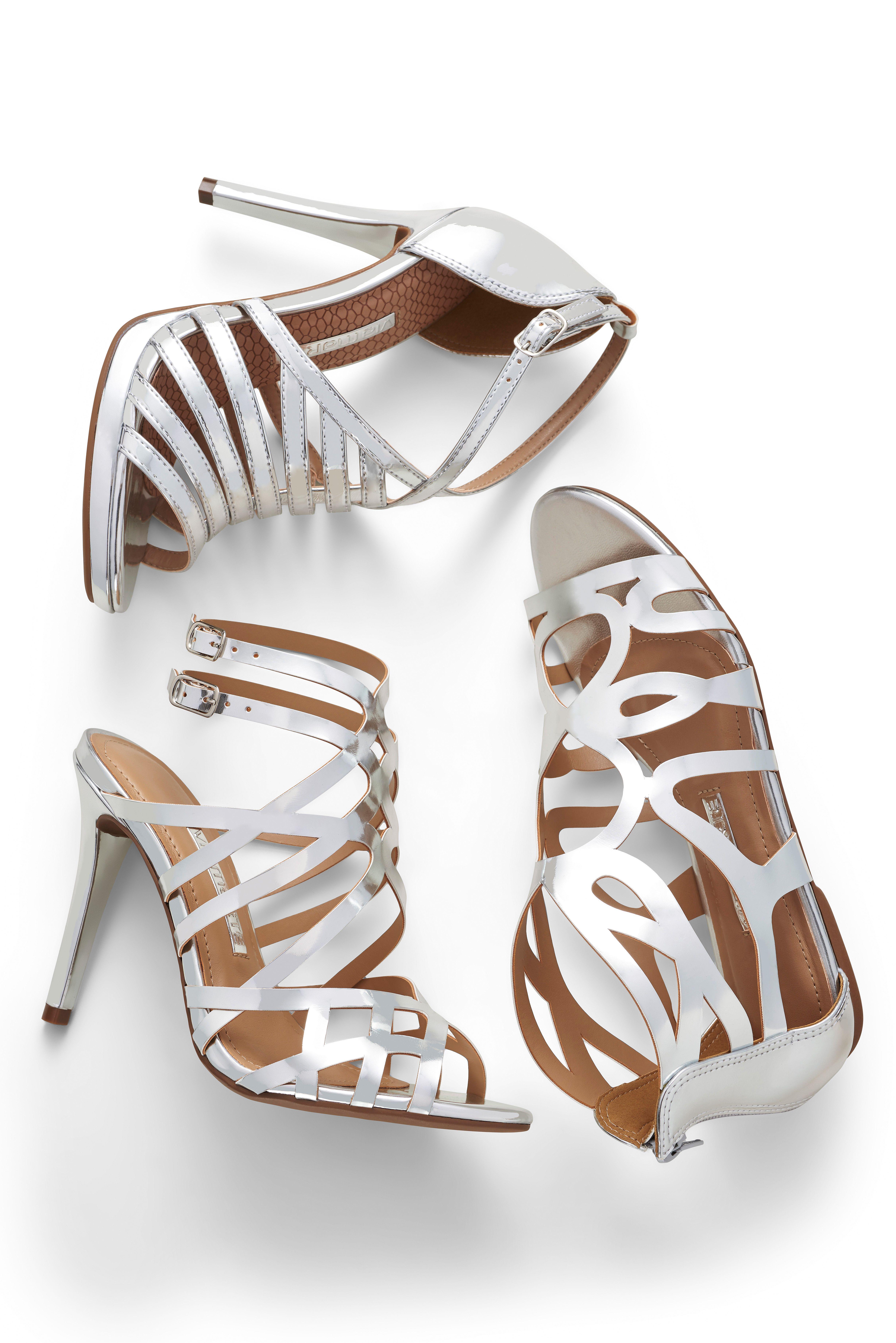 Silver Prata Sandalias Trend Summer Ref 16 18601 16