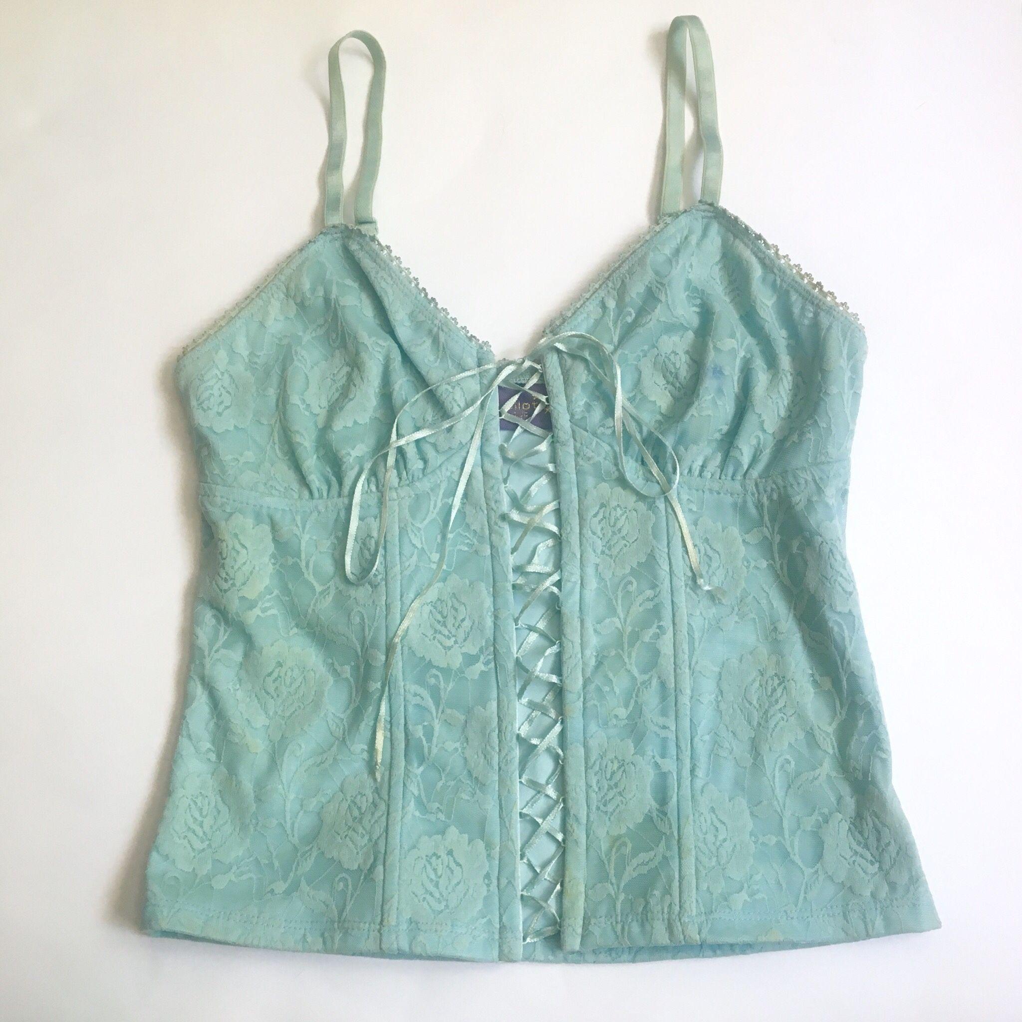Amazing Vintage 90s Y2k Pilot Baby Blue Mint Lace Depop In 2020 Fashion Aesthetic Clothes Clothes