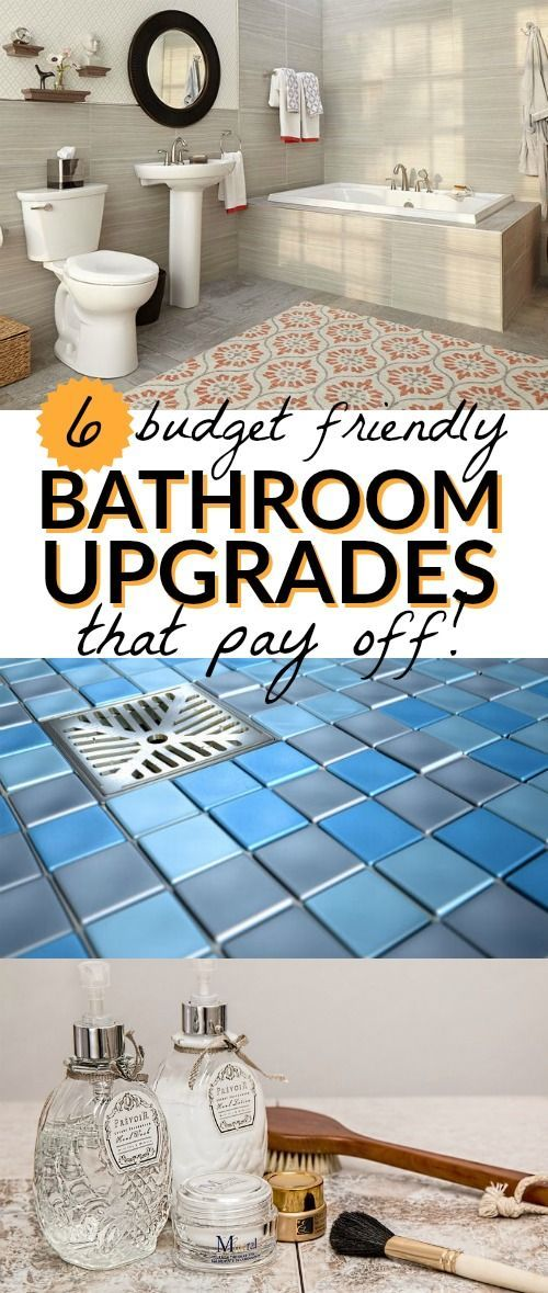 Love These Budget Friendly Bathroom Upgrades That Pay Off Whether - Inexpensive bathroom upgrades