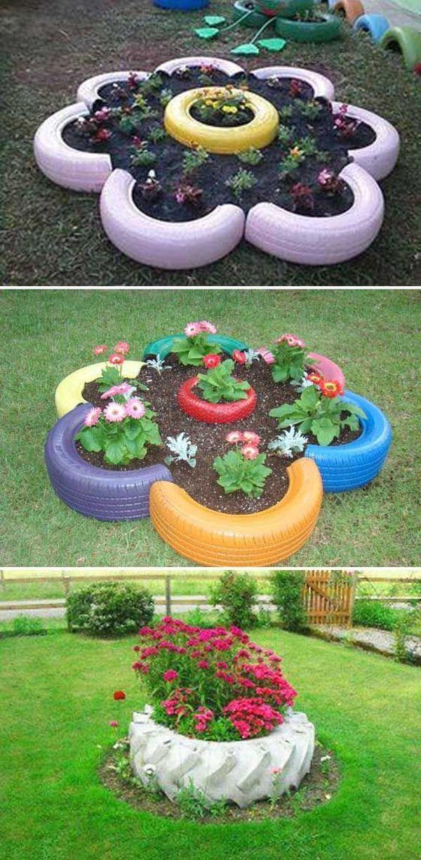 A gumiabroncs gyönyörű dísz lehet! Megmutatjuk, hogyan használhatod fel a kertben! - Bidista.com - A TippLista!