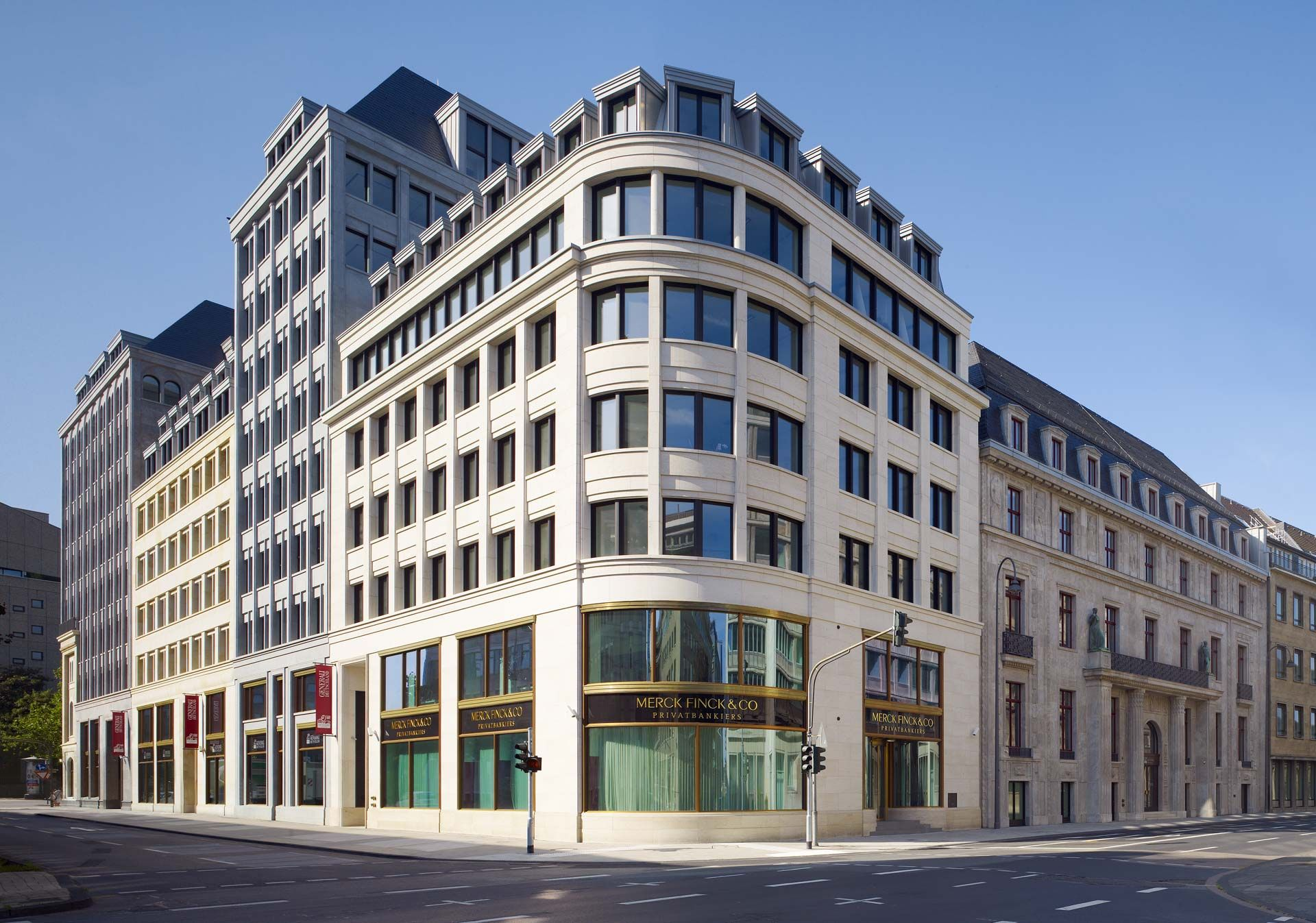 Architektur Köln dominium köln prof hans kollhoff architekten foto martin