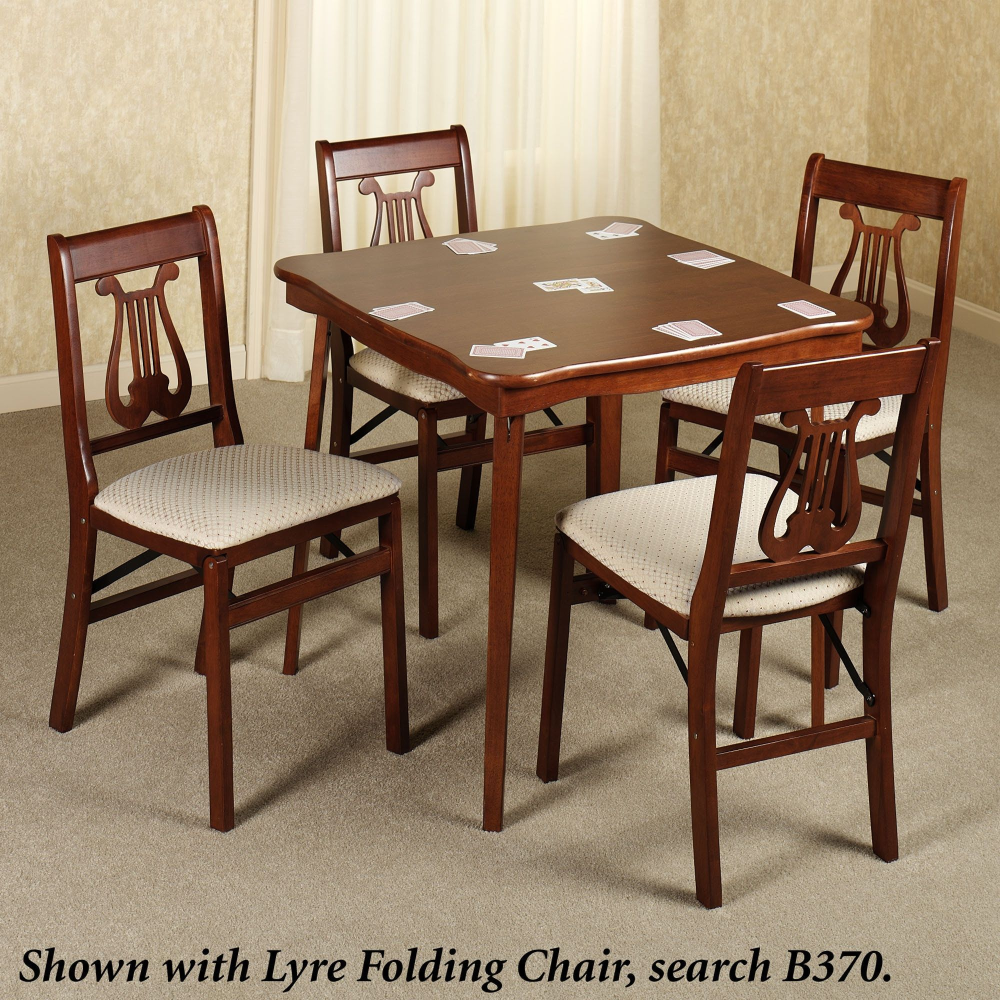 Folding Bridge Tables And Chairs