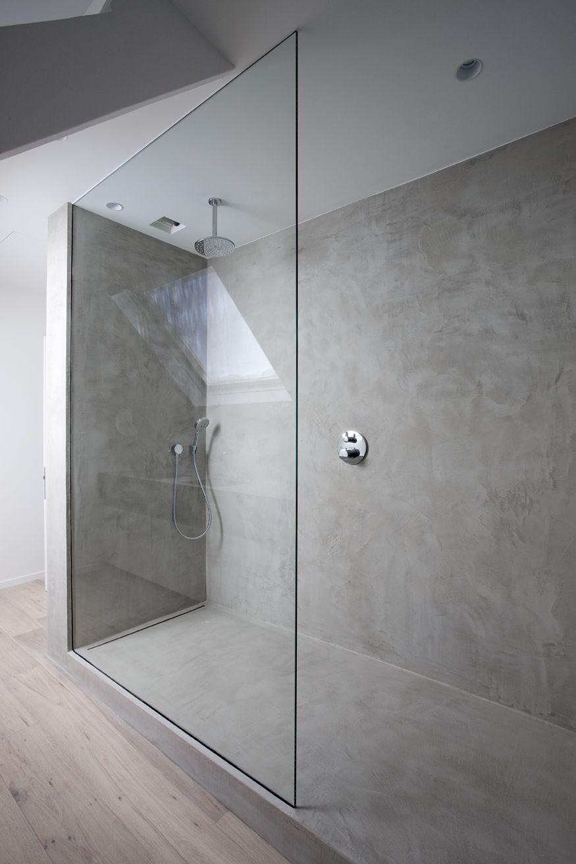 Best Walk In Showers Avec Images Douche Beton Exemple Salle