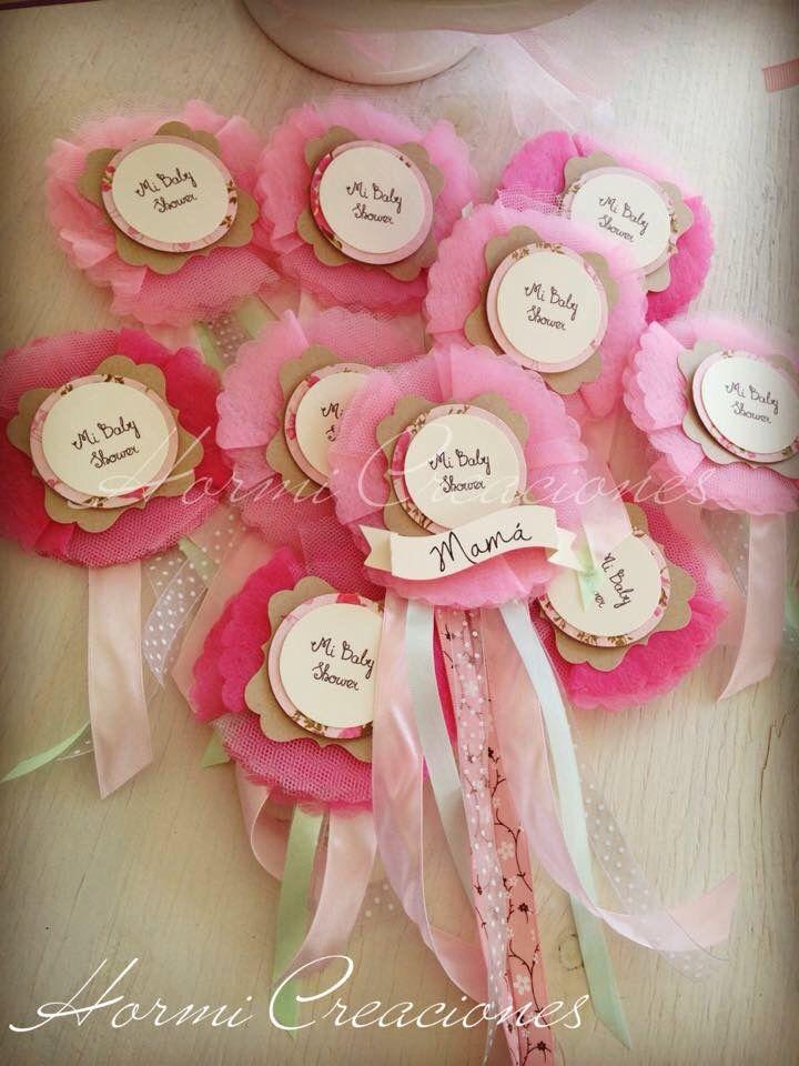 Distintivo Para Baby Shower De Nina Duchas De Bebe Princesa