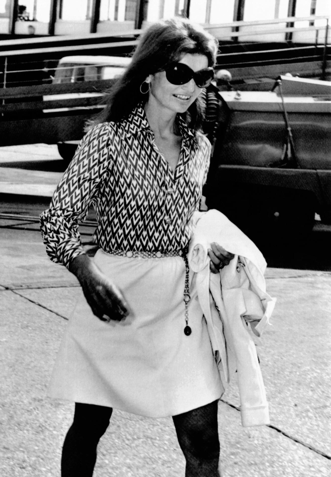 EVGENIA GL BOHEME JACKIE ONASSIS IN ROME 1970 Figaro 28 Juillet, Jacqueline  Kennedy Onassis, 28b46e23715a