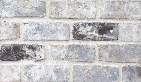 Grey Antique By Old Texas Brick Co Brick Decor Grey Brick Houses Grey Brick