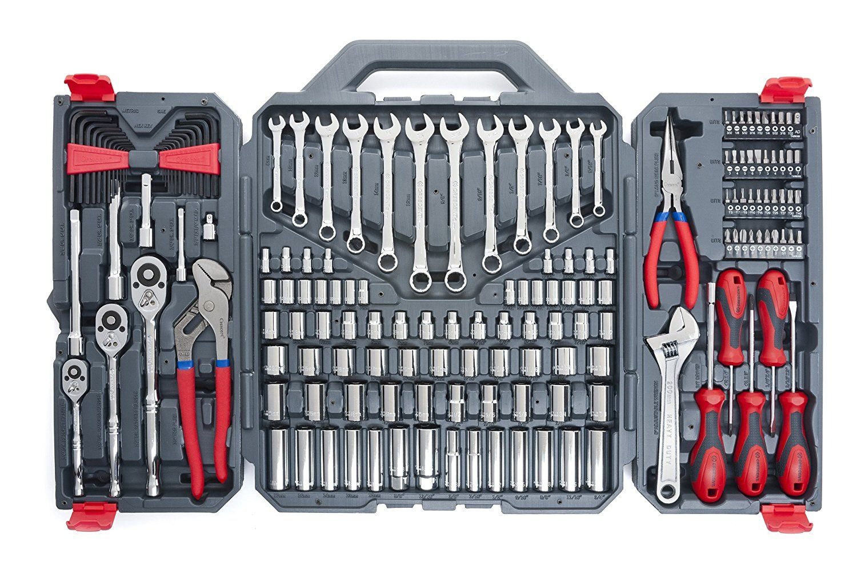 Crescent Ctk170cmp2 Mechanics Tool Set 170 Piece Mechanic Tools Mechanics Tool Set Hand Tool Sets