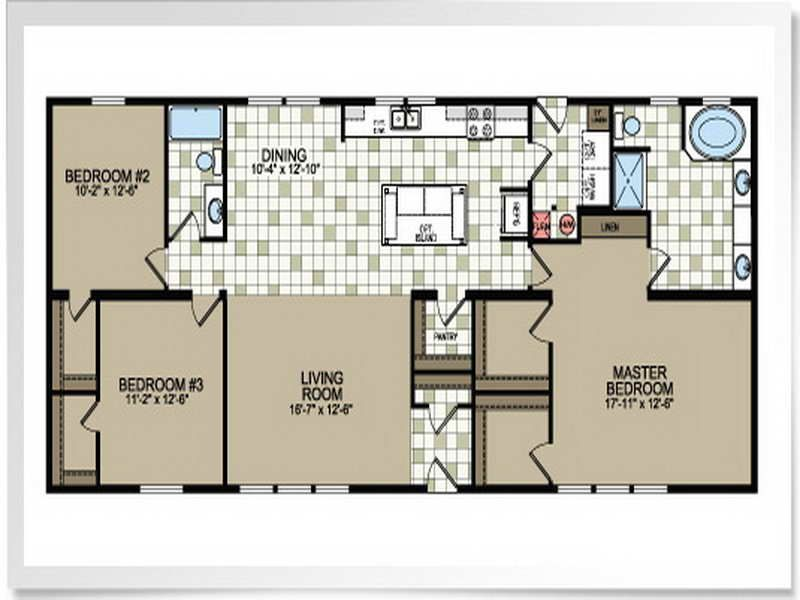 Double Wide Mobile Home Floor Plans Pictures Manufactured Homes Floor Plans Mobile Home Floor Plans Small House Floor Plans
