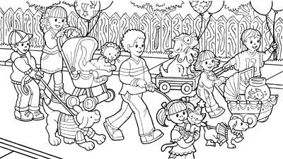 this hidden picture was created for an issue of highlights hidden - Hidden Pictures For Children